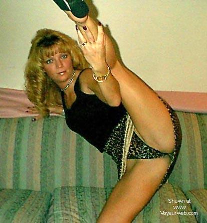 Pic #2 - sexy thong lady