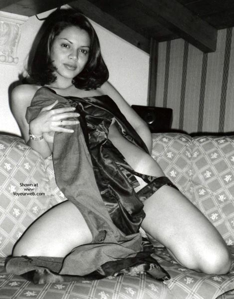 Pic #1 - My Young Brazilian Wife B/W