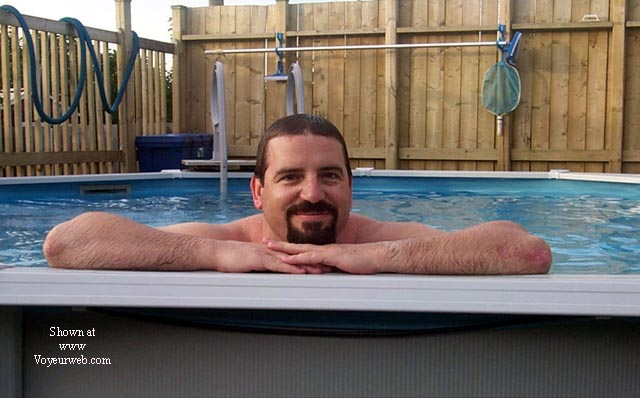 Pic #2 - *UW CJ & Hubby in the Pool