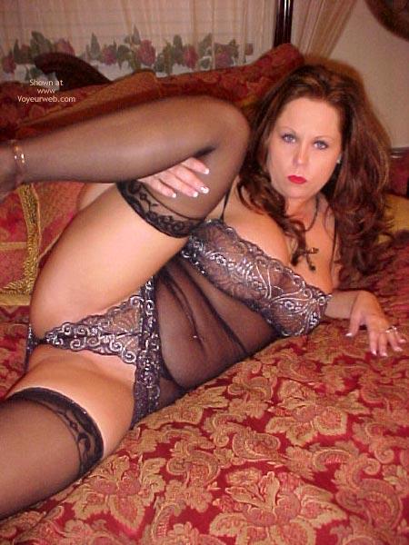 Pic #4 - 1perfect_angel69 Goes Black Widow!
