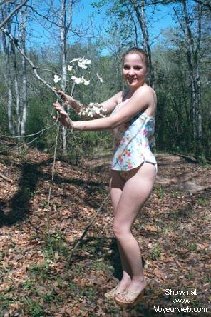 Pic #1 - Camping With 22 yo Girlfriend