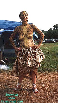 Pic #3 - Festival Bodypainting
