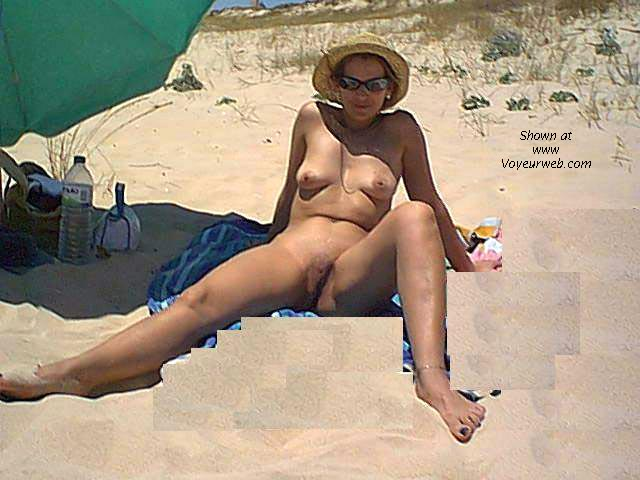 Pic #3 - MARTA at the nude beach