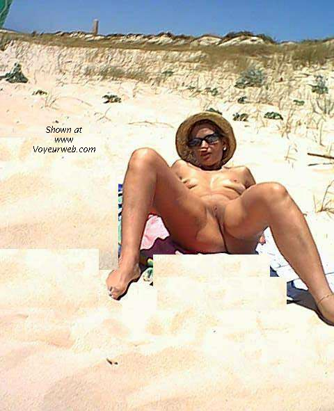 Pic #6 - MARTA at the nude beach