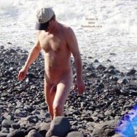M* Shaved Guy At The Beach