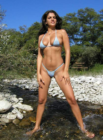 Pic #2 - Vanessa Blue Microbikini