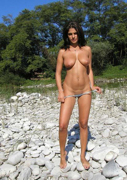 Pic #9 - Vanessa Blue Microbikini