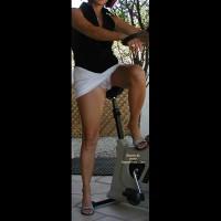Rita Exercises In High Heels