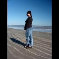 Kittycrow At The Beach