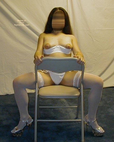 Pic #5 - Petite Dancer In White Stockings 4