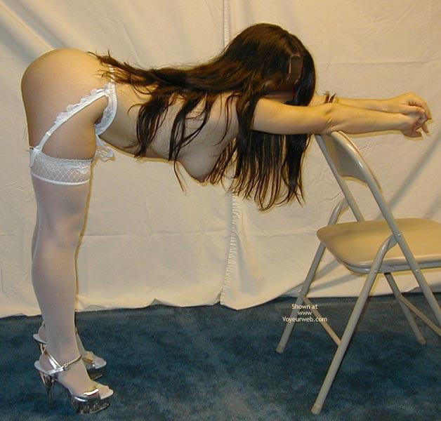 Pic #8 - Petite Dancer In White Stockings 4