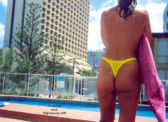 Pic #4 - yellow thong