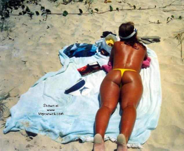 Pic #5 - yellow thong