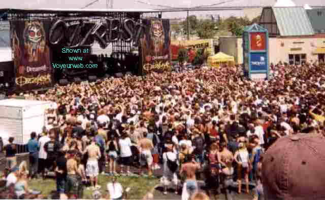 Pic #1 - OZZFEST 2000 -- Camden NJ