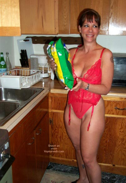 Pic #2 - Nicole In The Kitchen