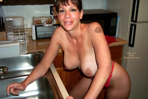 Pic #5 - Nicole In The Kitchen
