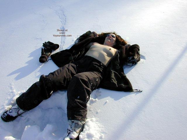 Pic #1 - Hard Nipples - Hard Nipple , Hard Nipples, Nude In Snow