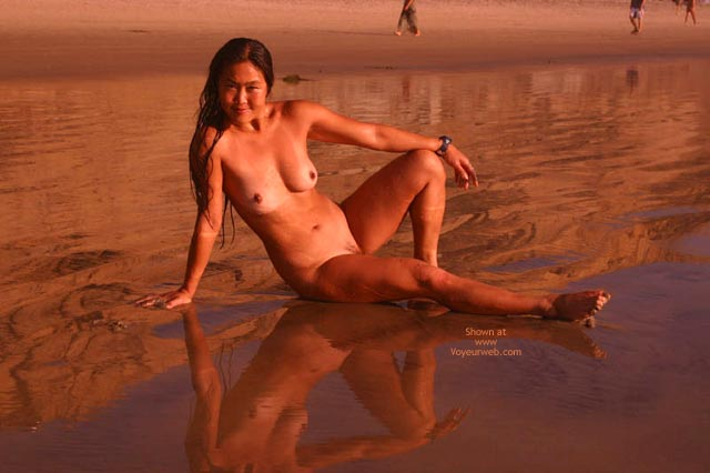 Pic #1 - Lani Nude On The Beach