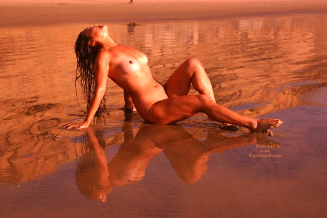 Pic #2 - Lani Nude On The Beach