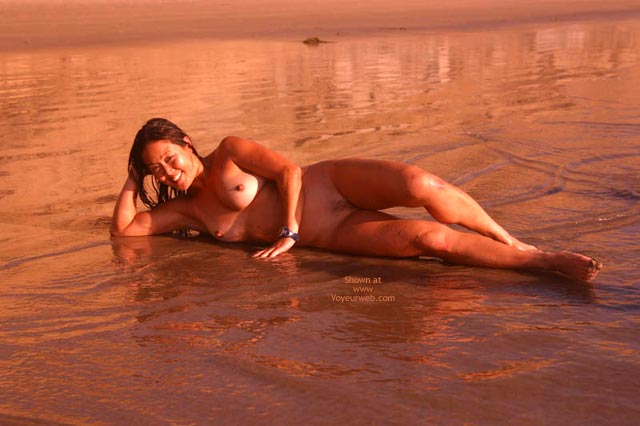 Pic #5 - Lani Nude On The Beach