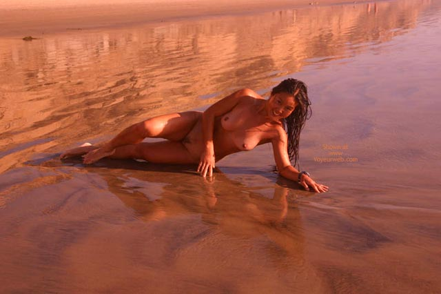 Pic #8 - Lani Nude On The Beach