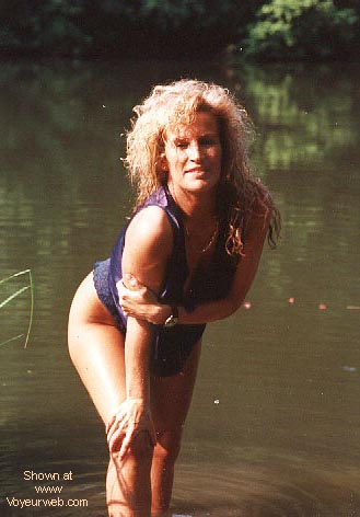 Pic #1 - Candy's 1st. Nudes at a fishing pond