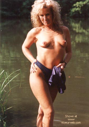 Pic #2 - Candy's 1st. Nudes at a fishing pond
