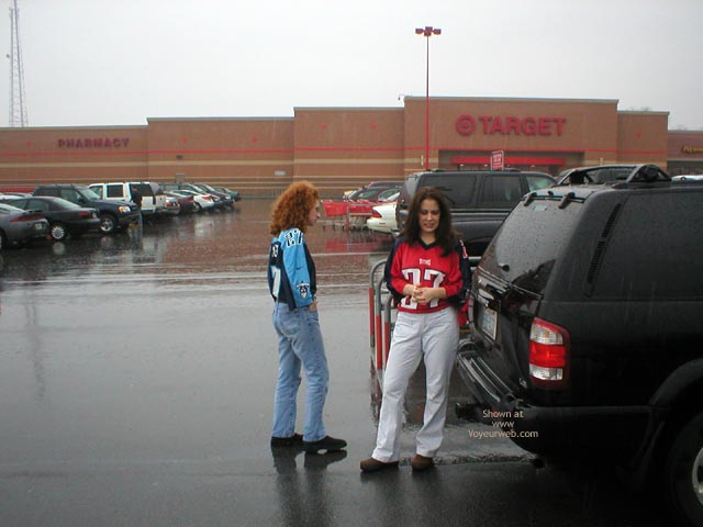 Pic #1 - Cleo And The Nurse Go Shopping