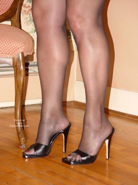 Pic #4 - Curvy Kay : Silver & Black Bustier