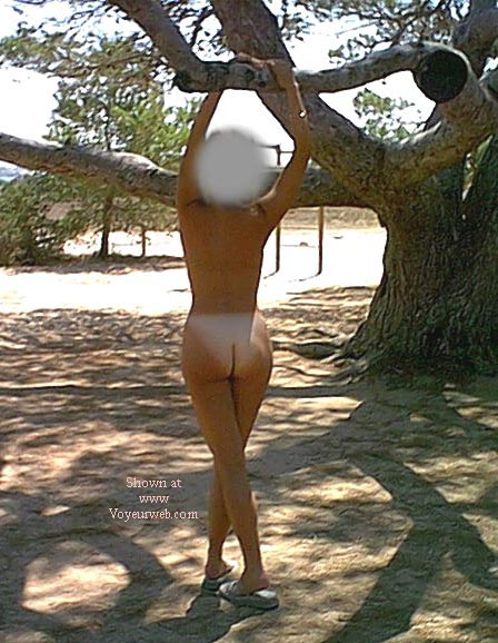 Pic #2 - nude on the playground