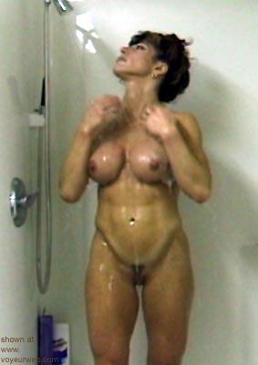 """Pic #3 - """"Alice in shower"""""""