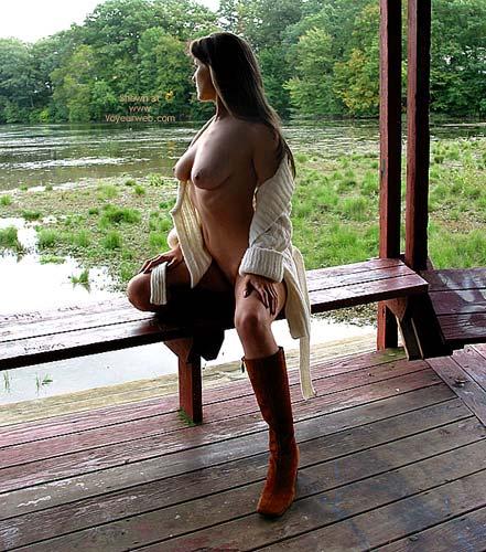 Pic #6 - Laura At Matawan Lake