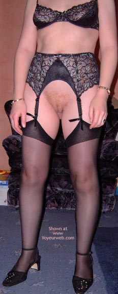 Pic #4 - Sexy Wife In Stockings