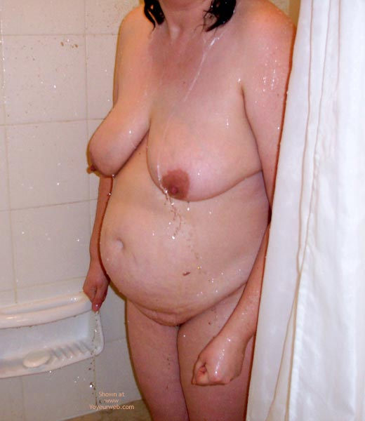 Pic #1 - Showering Wife