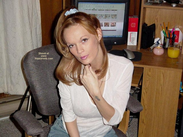 Pic #1 - Working at my desk