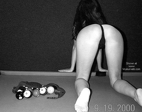 Pic #4 - Playing pool