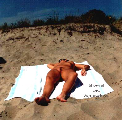 Pic #1 - naked on the beach in Belgium