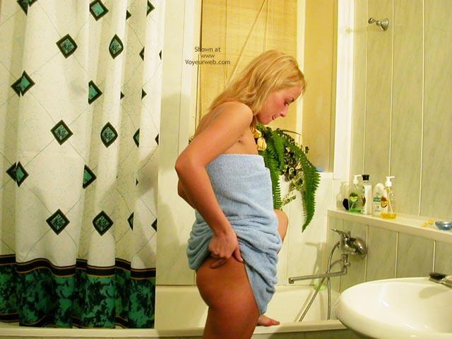 Pic #2 - Helena In The Washroom ( 2nd Contri)