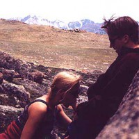 Mountain Pics - Frisky Couple