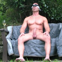 Blindfolded Outdoor