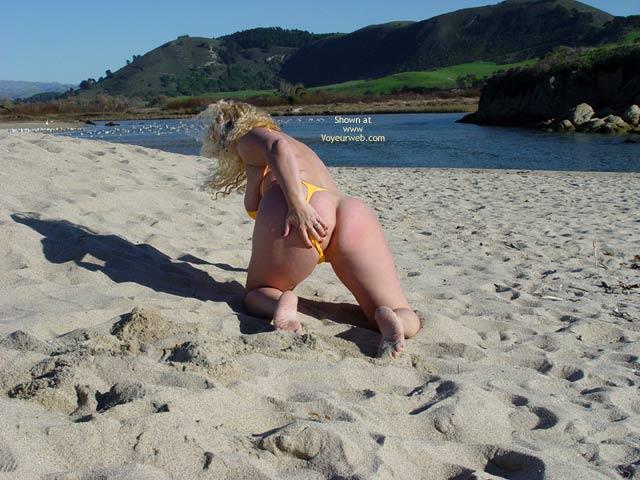Pic #6 - Curvy Kay : Carmel River Beach