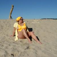 Curvy Kay : Carmel River Beach