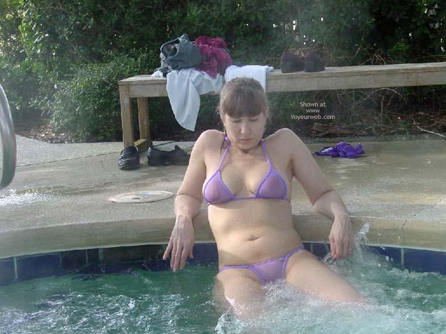 Pic #2 - Purple Patty Wicked In Georgia Hottub