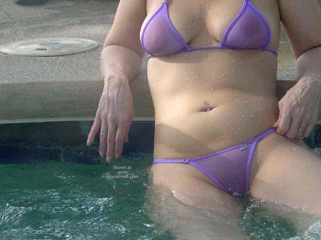 Pic #3 - Purple Patty Wicked In Georgia Hottub