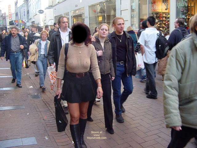 Pic #5 - Monique In Amsterdam