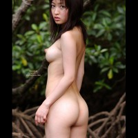 Wide Nipples - Erect Nipples, Nude Outdoors