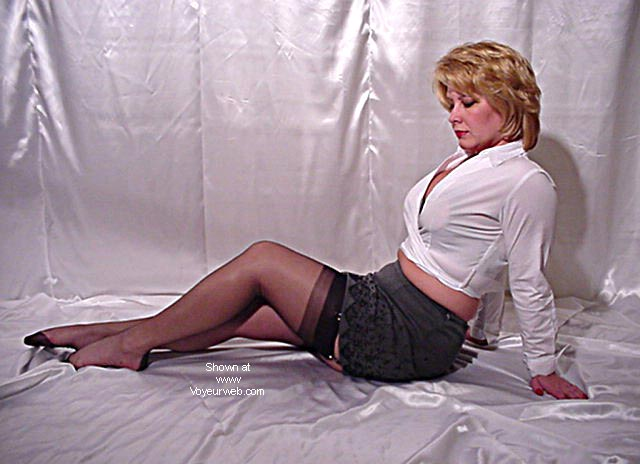 Pic #3 - Jeannie In Nylons 2
