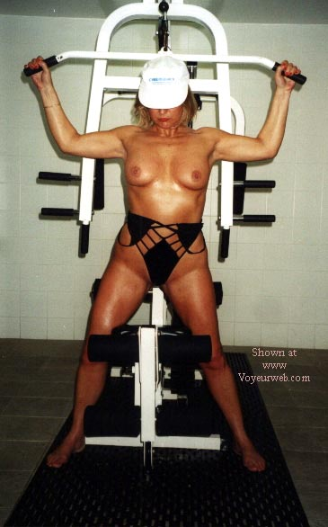 Pic #2 - Rose Works Out!