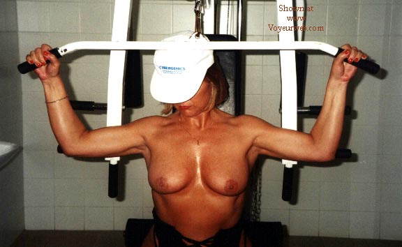 Pic #3 - Rose Works Out!