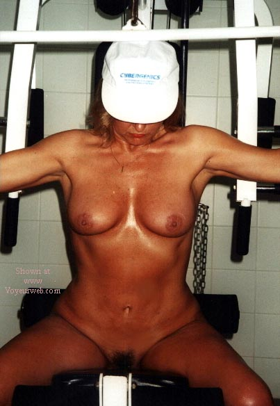 Pic #6 - Rose Works Out!